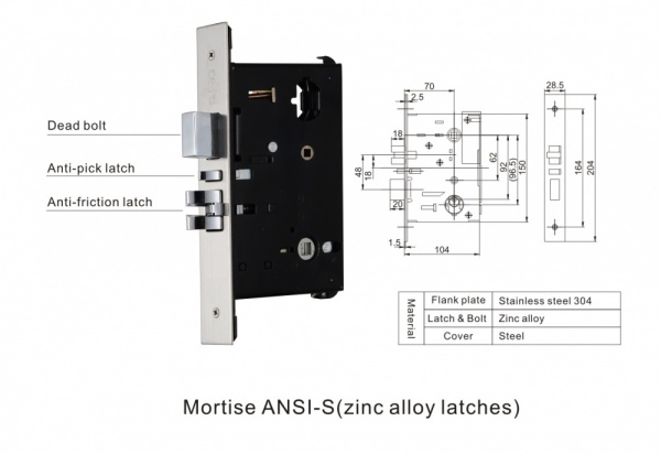 6100SL Card Door Lock - RetroTouch Designer Light Switches